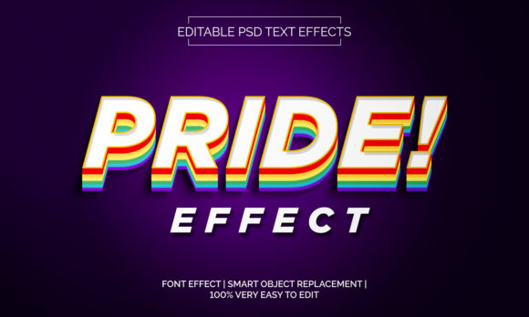 Pride Text Effect Style Graphic Layer Styles By Neyansterdam17