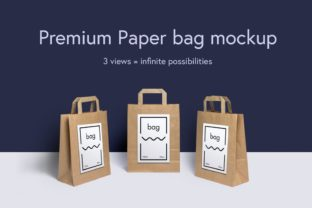 Paper Bag Mockup Graphic Product Mockups By WildOnes 1