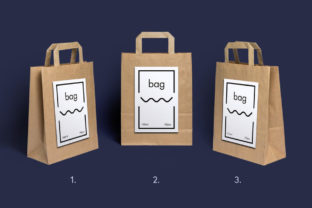 Paper Bag Mockup Graphic Product Mockups By WildOnes 3