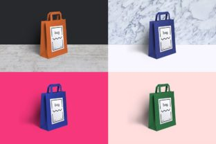 Paper Bag Mockup Graphic Product Mockups By WildOnes 6