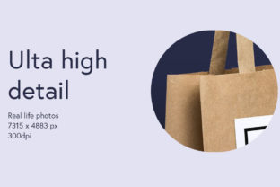 Paper Bag Mockup Graphic Product Mockups By WildOnes 9
