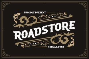 Print on Demand: Roadstore Display Font By almarkhatype