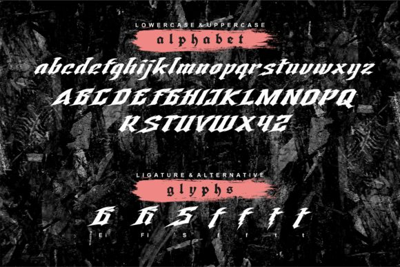 Storm Fighter Font Preview