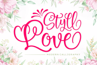 Print on Demand: Styll Love Script & Handwritten Font By Situjuh