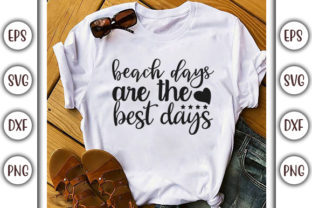 Print on Demand: Summer Beach Design, Beach Days Are the Graphic Print Templates By GraphicsBooth