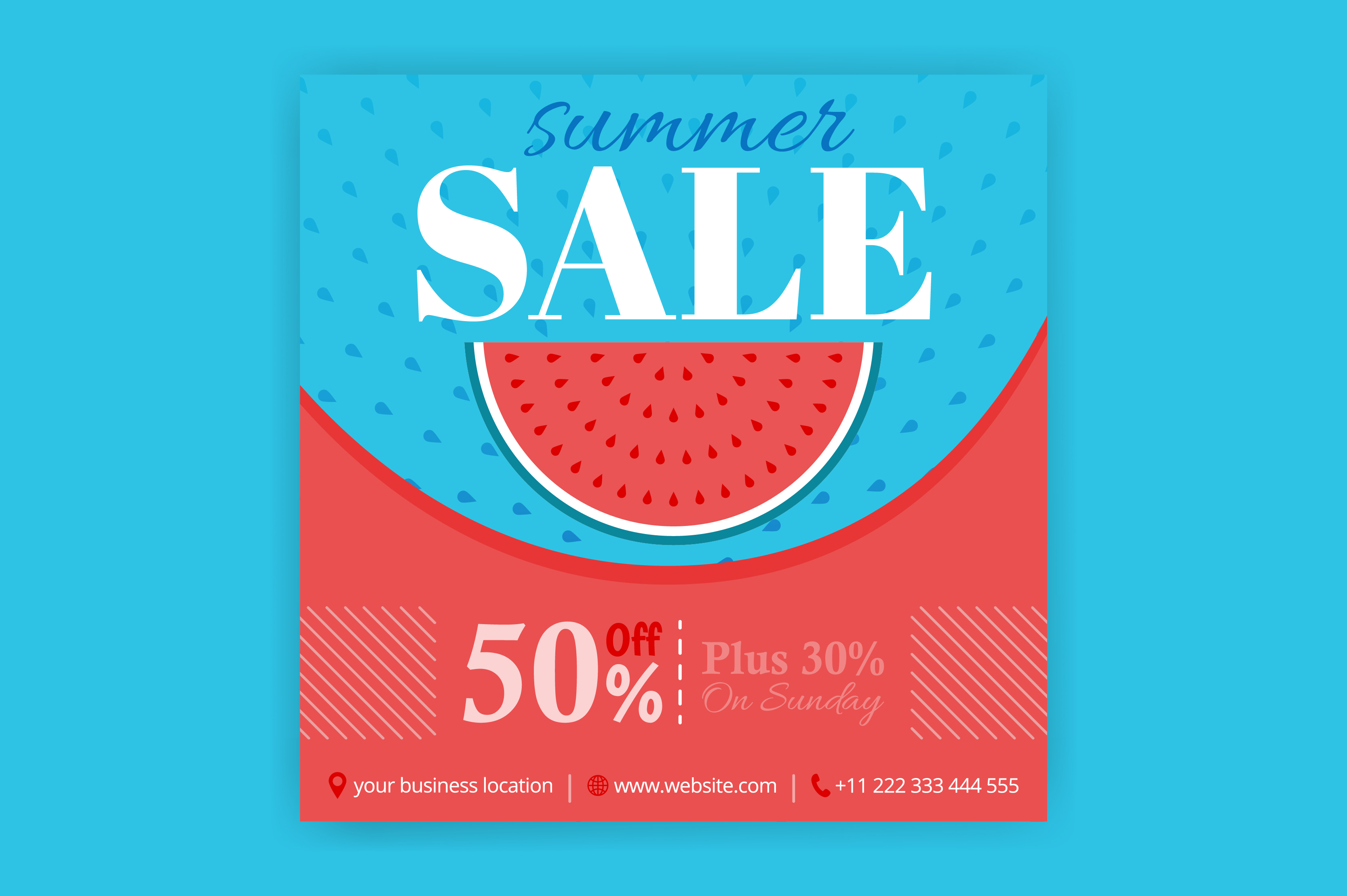 Download Free Summer Sale And 50 Discount Off Posts Graphic By for Cricut Explore, Silhouette and other cutting machines.