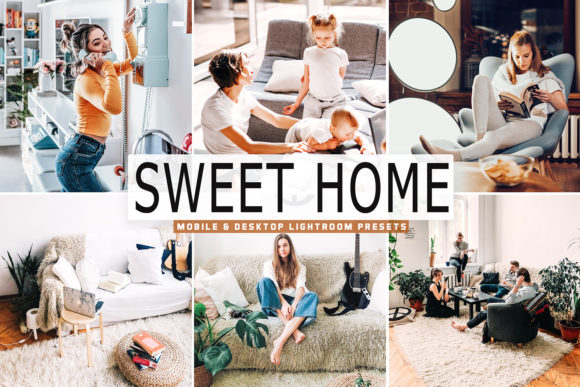 Print on Demand: Sweet Home Lightroom Presets Pack Graphic Actions & Presets By Creative Tacos