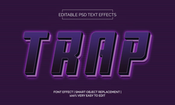 Trap Text Effects Style Graphic Layer Styles By Neyansterdam17