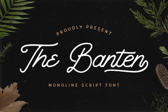 Print on Demand: The Banten Script & Handwritten Font By StringLabs