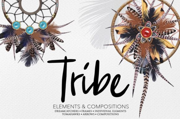 Tribe Pack Graphic Illustrations By starstudiooriginals