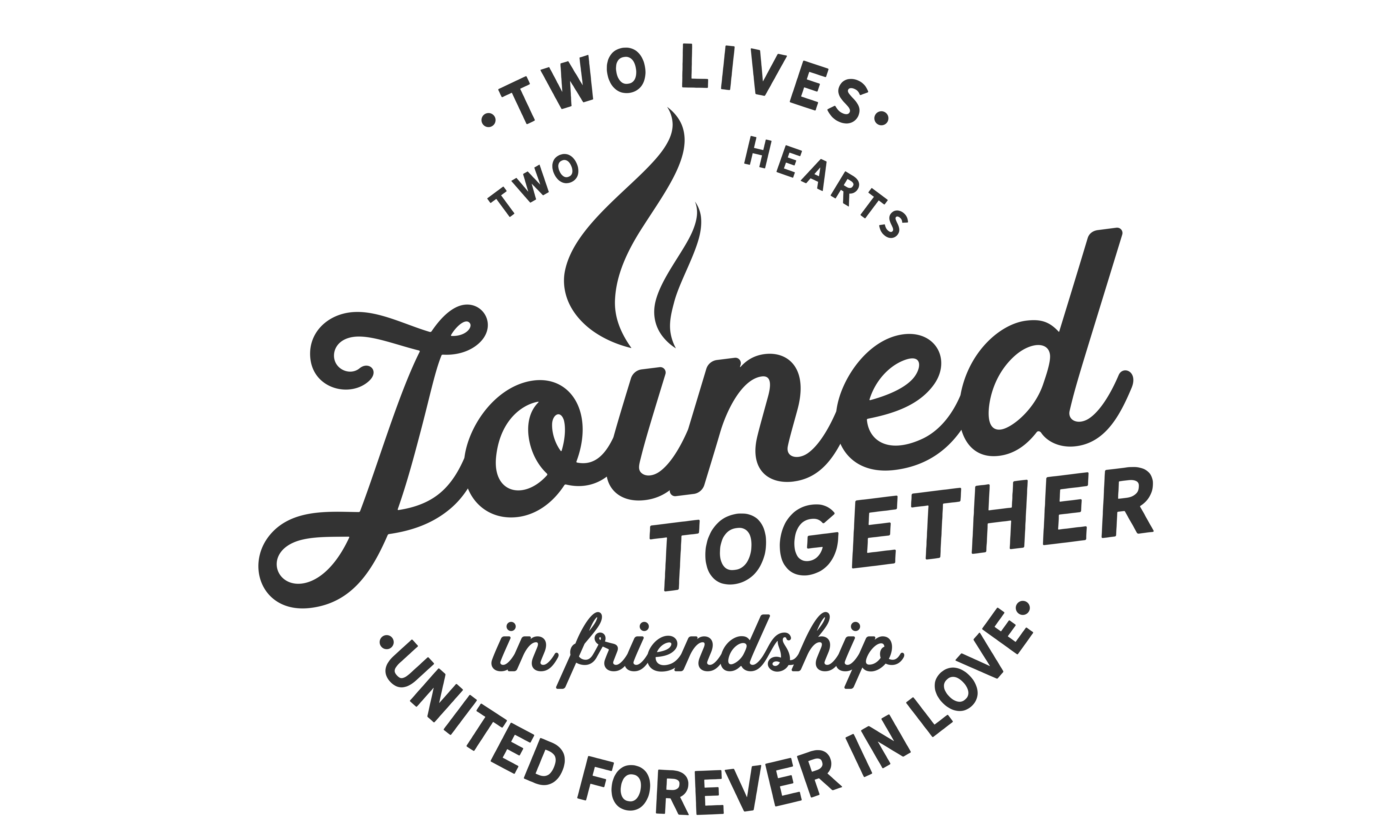 Download Free Two Lives Two Hearts Joined Together Graphic By Baraeiji for Cricut Explore, Silhouette and other cutting machines.