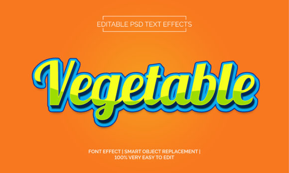 VegetableText Effects Style Graphic Layer Styles By Neyansterdam17