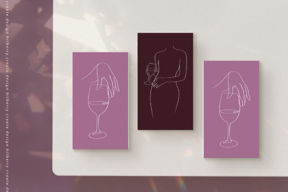 Download Free Wine Aesthetic Graphic By Bilberrycreate Creative Fabrica for Cricut Explore, Silhouette and other cutting machines.