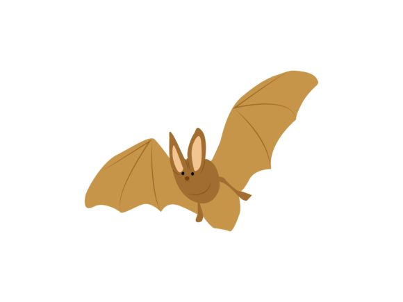 Download Free Bat Animal Graphic By Archshape Creative Fabrica for Cricut Explore, Silhouette and other cutting machines.
