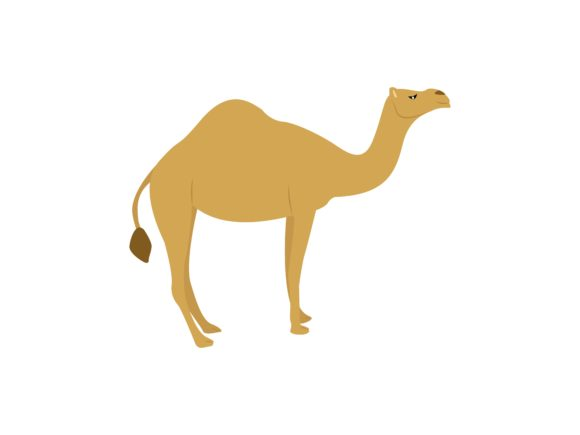 Download Free Camel Animal Graphic By Archshape Creative Fabrica for Cricut Explore, Silhouette and other cutting machines.