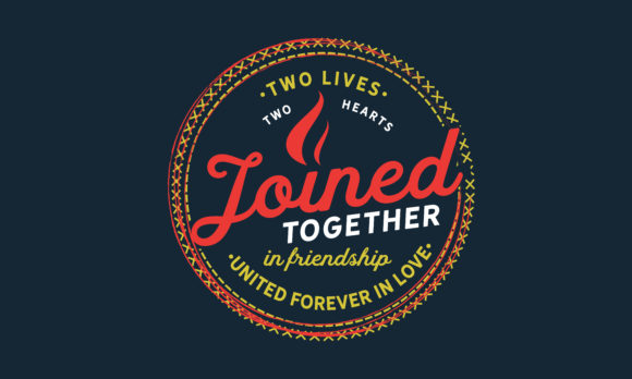 Download Free Friendship United Forever In Love Graphic By Baraeiji Creative for Cricut Explore, Silhouette and other cutting machines.