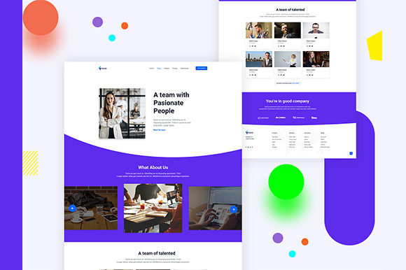 About Us Concept Graphic UX and UI Kits By artgalaxy