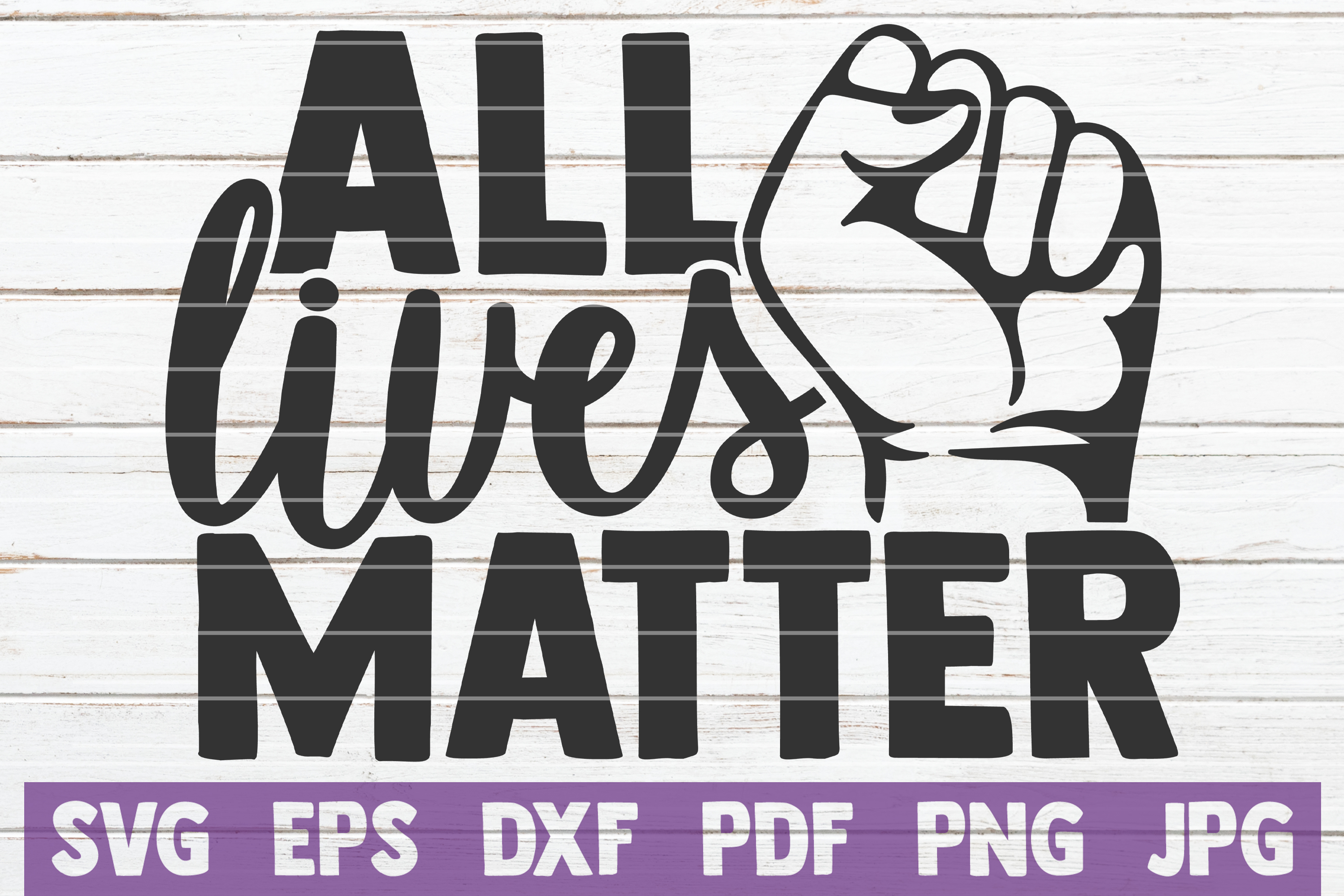 Download Free All Lives Matter Graphic By Mintymarshmallows Creative Fabrica SVG Cut Files