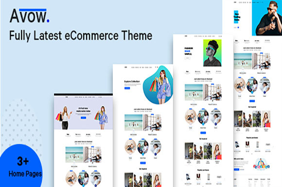 Download Free Avow Ecommerce Ui Kit Graphic By Artgalaxy Creative Fabrica SVG Cut Files