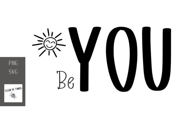 Print on Demand: Be You Graphic Print Templates By Fleur de Tango