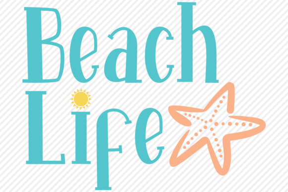 Download Free Beach Life Summer Shirt Design Graphic By Texassoutherncuts for Cricut Explore, Silhouette and other cutting machines.