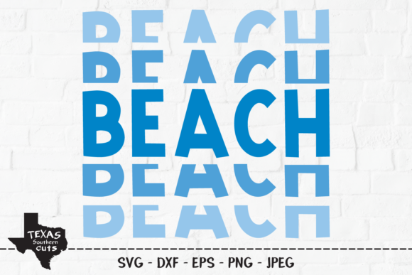 Download Free Beach Summer Shirt Design Graphic By Texassoutherncuts for Cricut Explore, Silhouette and other cutting machines.
