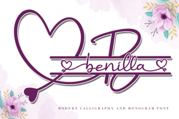 Print on Demand: Benilla Script & Handwritten Font By AEN Creative Studio