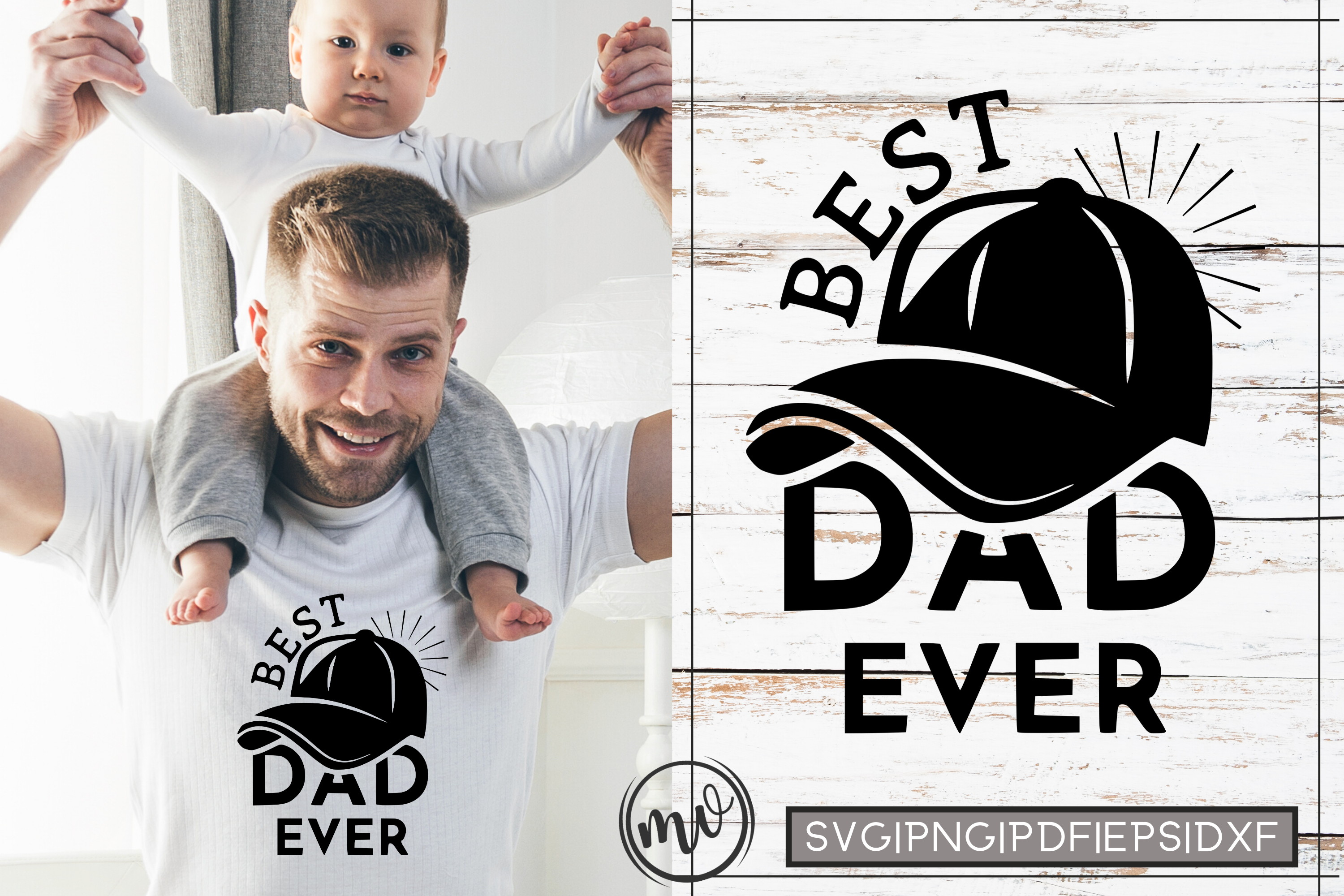 Best Dad Ever Father S Day Quote Graphic By Mockup Venue