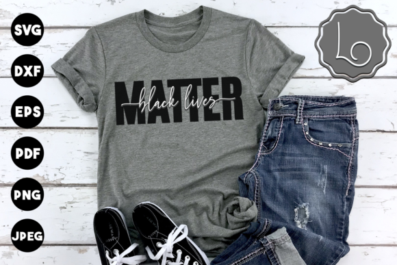 Print on Demand: Black Lives Matter - Quote Graphic Crafts By La Oliveira