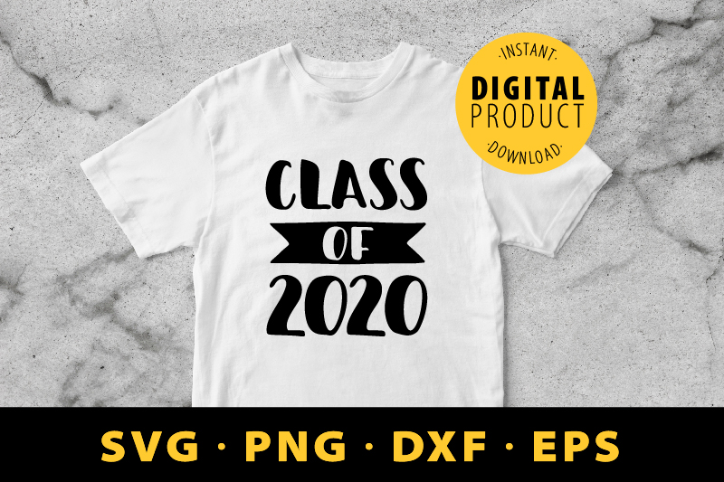 Download Free Class Of 2020 Graduation Graphic By Barriletters Creative Fabrica for Cricut Explore, Silhouette and other cutting machines.
