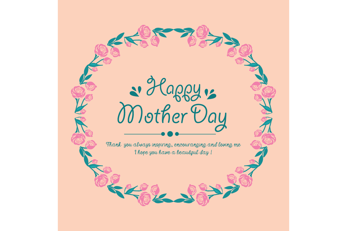 Cute Design For Happy Mother Day Graphic By Stockfloral