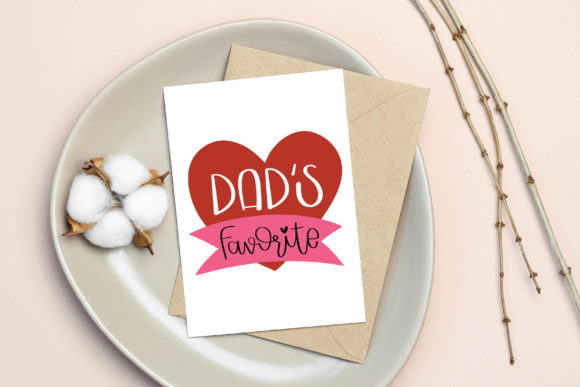 Download Free Dad S Favorite Cut File Printable Graphic By Meiimi Creative for Cricut Explore, Silhouette and other cutting machines.