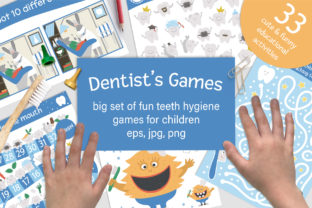 Dentist's Games Graphic Teaching Materials By lexiclaus