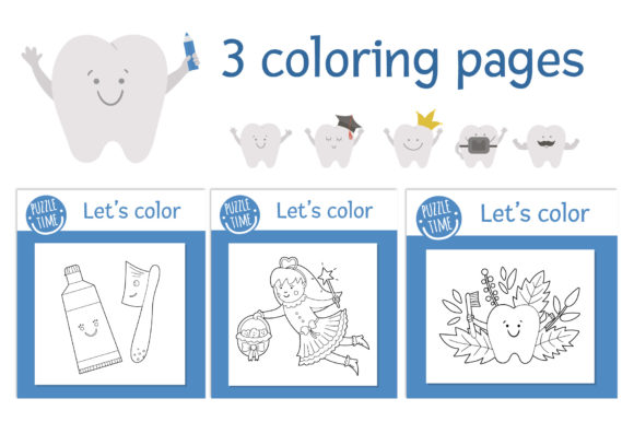 Dentist's Games Graphic Teaching Materials By lexiclaus - Image 11