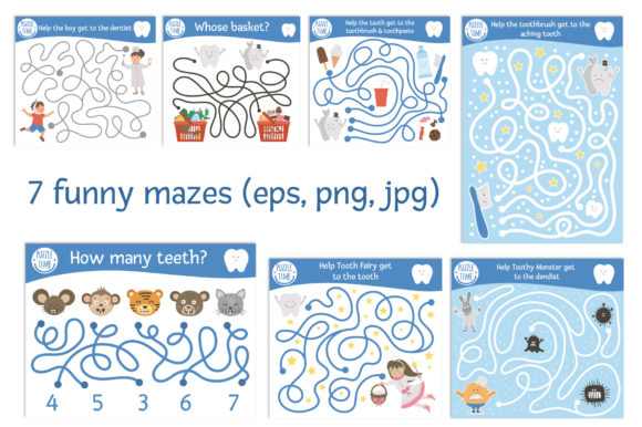 Dentist's Games Graphic Teaching Materials By lexiclaus - Image 3