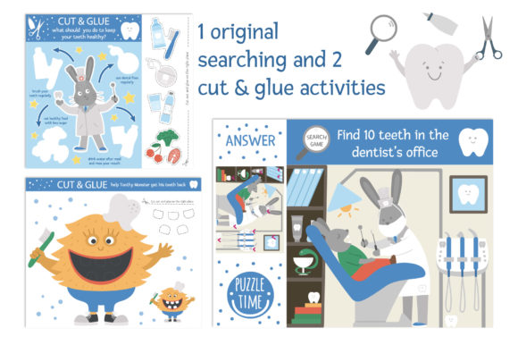Dentist's Games Graphic Teaching Materials By lexiclaus - Image 6