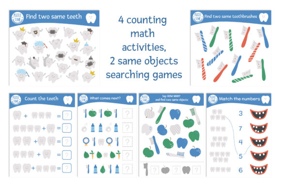 Dentist's Games Graphic Teaching Materials By lexiclaus - Image 8