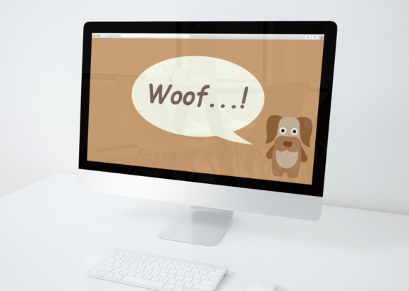 Download Free Desktop Wallpaper Dog Brown Graphic By Studioisamu Creative for Cricut Explore, Silhouette and other cutting machines.