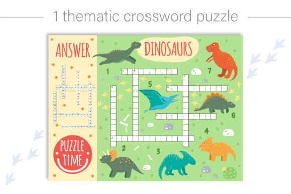Dino Games Graphic Teaching Materials By lexiclaus - Image 4