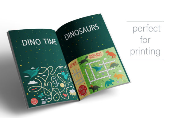 Dino Games Graphic Downloadable Digital File