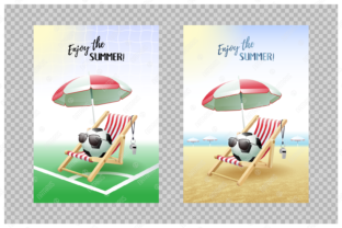 Download Free Enjoy The Summer 2 Sport Cards Soccer Graphic By Natariis for Cricut Explore, Silhouette and other cutting machines.