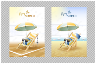 Download Free Enjoy The Summer 2 Sport Cards Volley Graphic By Natariis for Cricut Explore, Silhouette and other cutting machines.