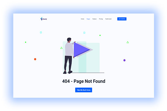Error Page Concept Graphic UX and UI Kits By artgalaxy