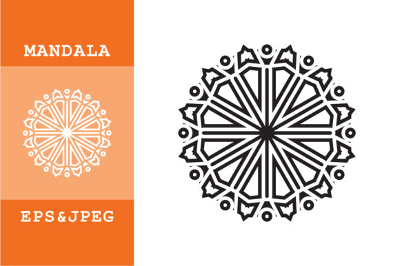 Download Free Mandala Ornamental Graphic By Mbahsinyo Creative Fabrica for Cricut Explore, Silhouette and other cutting machines.