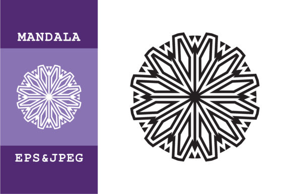 Download Free Mandala Art Ornamental Graphic By Mbahsinyo Creative Fabrica for Cricut Explore, Silhouette and other cutting machines.