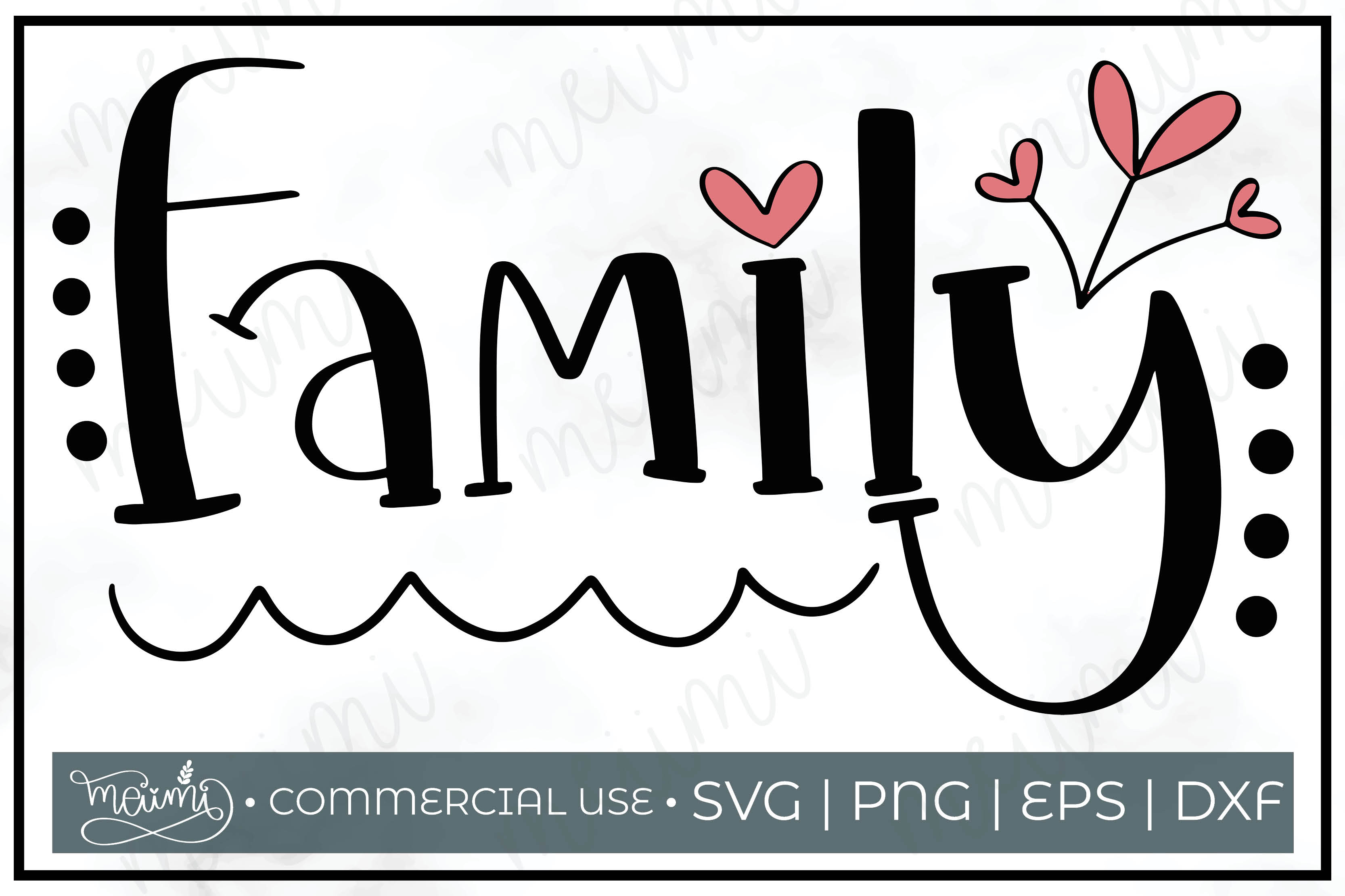 Download Free Family Cut File Printable Graphic By Meiimi Creative Fabrica SVG Cut Files
