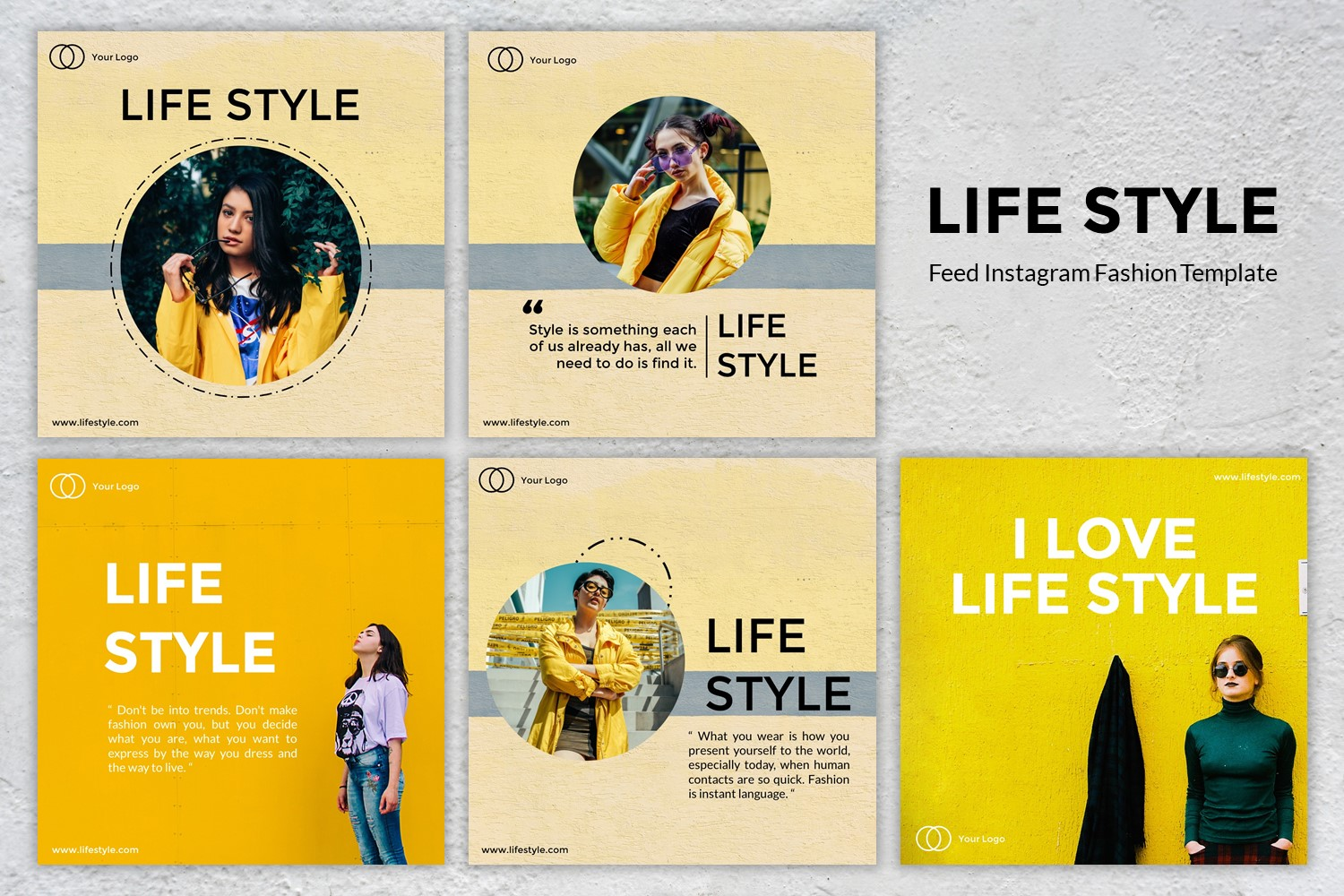Download Free Feed Instagram Life Style Graphic By Listulabs Creative Fabrica for Cricut Explore, Silhouette and other cutting machines.