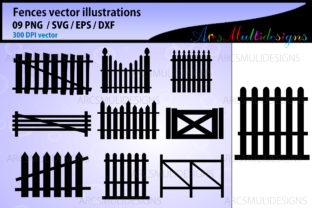 Print on Demand: Fence Graphics Graphic Illustrations By Arcs Multidesigns 1
