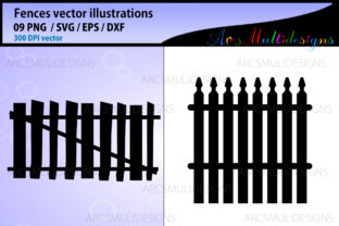 Print on Demand: Fence Graphics Graphic Illustrations By Arcs Multidesigns 2