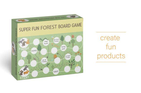 Forest Games Graphic Teaching Materials By lexiclaus - Image 10